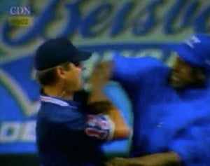 Jose Offerman Lives The Dream, Punches Ump