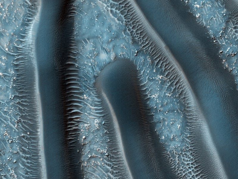 Microscope Image Or Alien Planet -- Can You Tell The Difference?