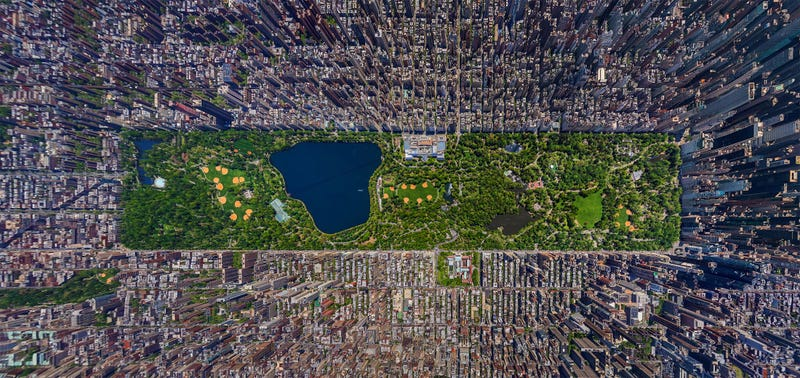 A Real Photo That Makes Manhattan Look Like SimCity