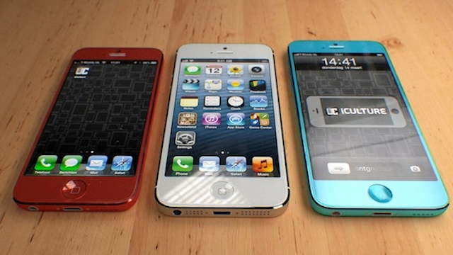 An iPhone in Different Colors Looks Fantastically Fun