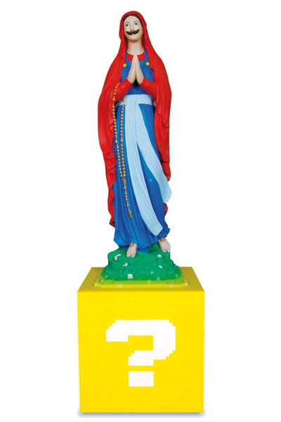 Our Lady of the Mushroom Kingdom Turns Mario Into Religious Iconography
