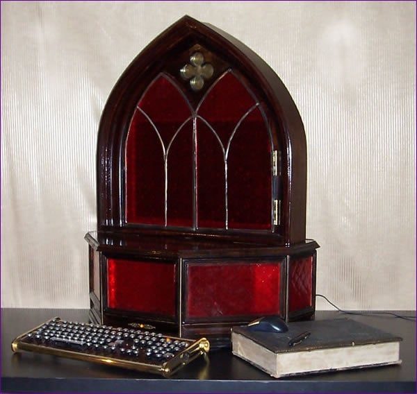 'Archbishop' Gothic PC Looks Straight Out of an Old Church
