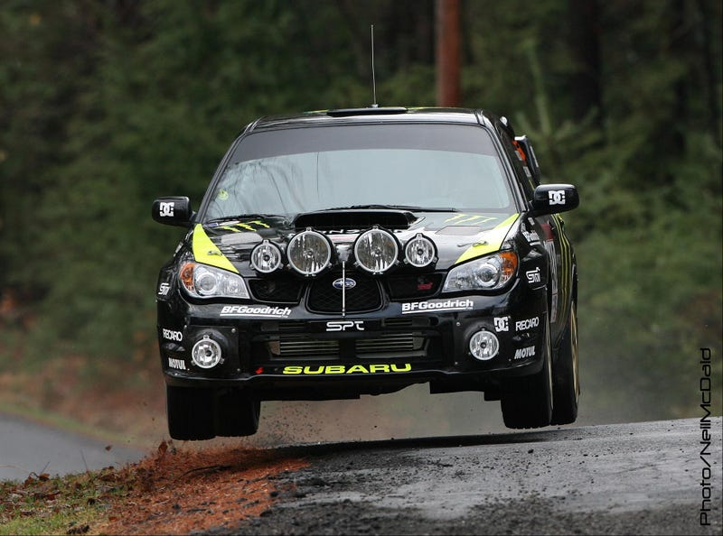 Ken Block Snags Win At Rally New York USA