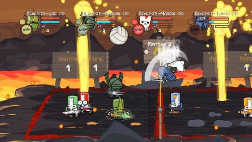 How Xtreme Is Castle Crashers' New Volleyball Mode?