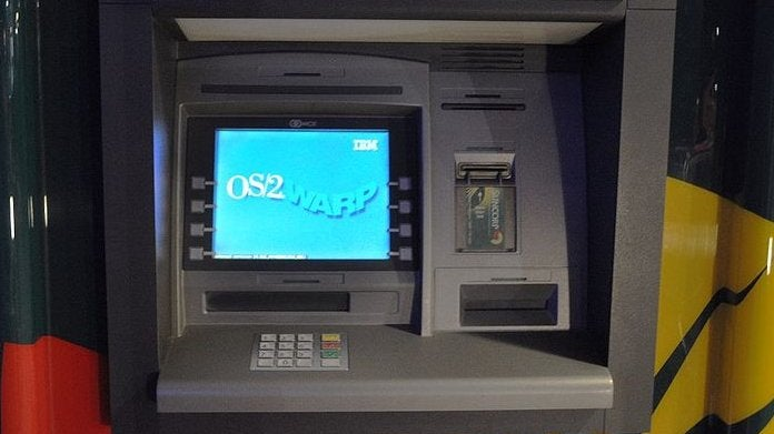 IBM's Failed Operating System OS/2 Is 25 Years Old—But It Still Powers ATMs and Checkouts