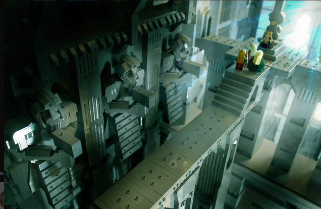120,000-piece Lego Erebor Is Twice the Size Of a Hobbit