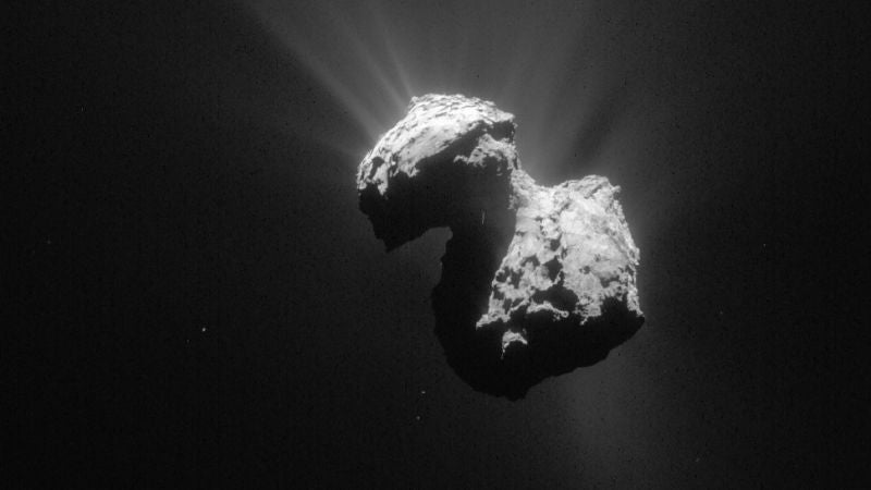 The Date Has Been Set for Rosetta's Mission-Ending Crash Into the Comet
