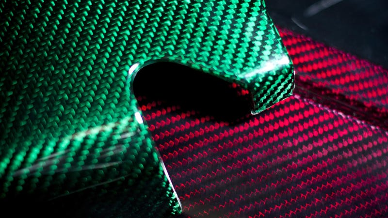This Colorful Carbon Fiber Is The Lightweight Way To Be Really Flashy