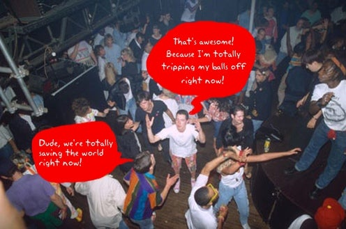 British Club4Climate Nightclub Charges Itself With the Power of Dance
