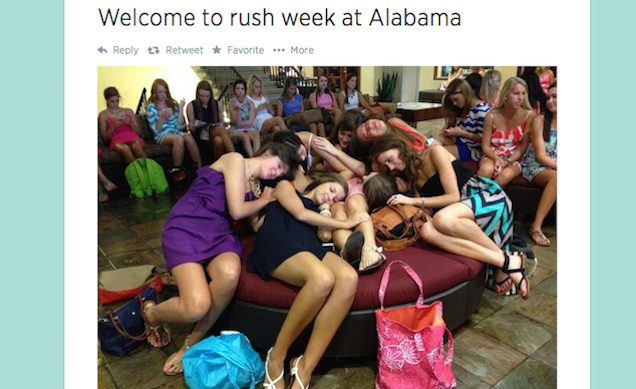 Thousands of Girls Still Dying to Pledge Alabama's Racist Sororities