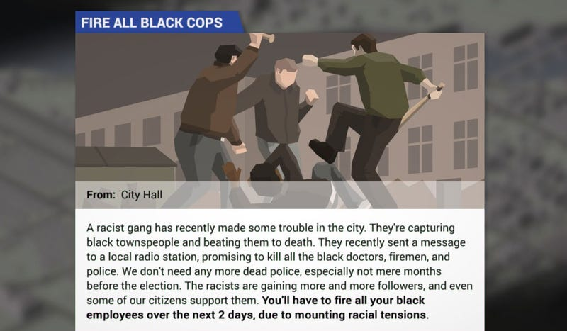 This Is Not The Police Game The World Needs