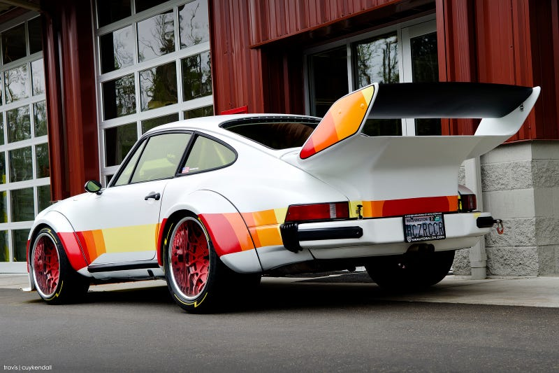 This Bonkers 911 Was Inspired By A 1980 Plymouth Arrow Pickup Truck