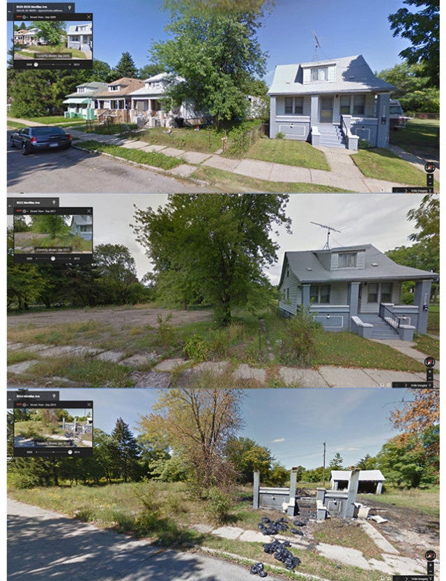Tracking Detroit's Decay Through Google Street View