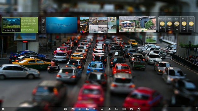 The Rush Hour Desktop