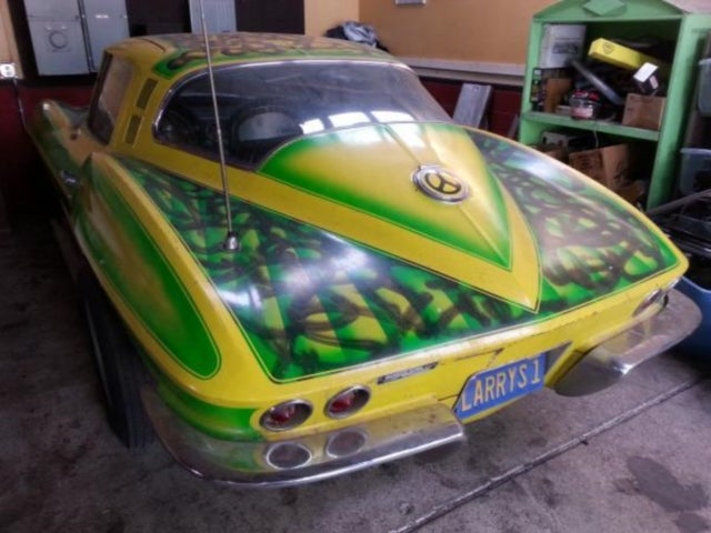 This Is Why You Don't Paint Your Corvette While High On Drugs