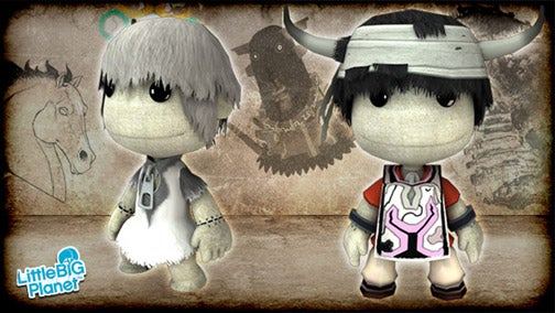 Ico And Yorda Hold Hands In LittleBigPlanet