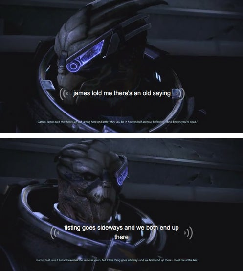 Mass Effect's Hilarious, Unintended Subtitles
