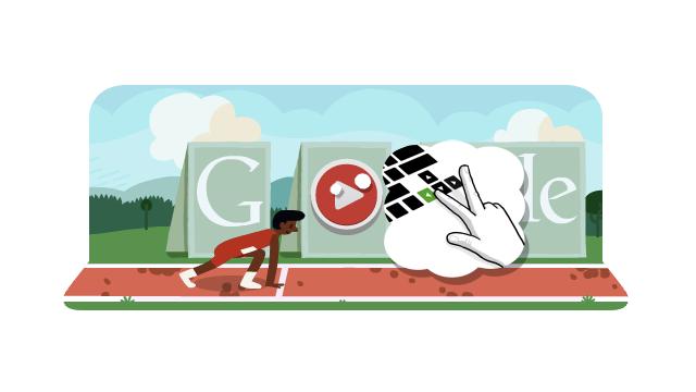 Today's Google Doodle Lets You Run the Hurdles