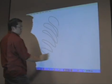 Turn a Projector into an Interactive Whiteboard with a Wiimote