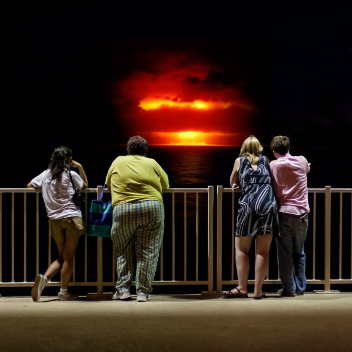 Tourists Watching Nuclear Explosions Is a Terrible Idea But a Great Facebook Photo