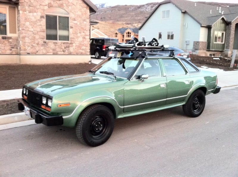 Tell me the story of the AMC Eagle