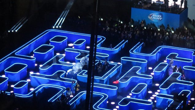 Budweiser Is Building A Life-Size Pacman Arena For The Super Bowl
