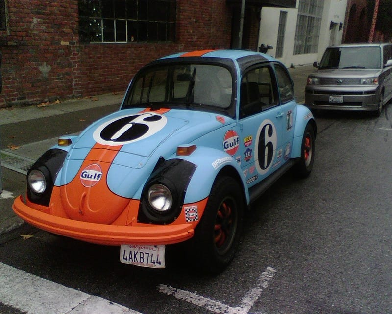 DOTS-O-Rama Sunday, San Francisco Edition: Rover 105S, With Bonus Gulf Oil Beetle