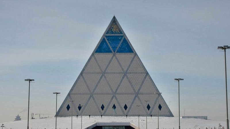 Magnificent Modern Buildings that Look Like Ancient Pyramids