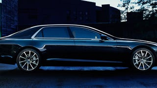 The New Aston Martin Lagonda: 550 Horses Of Pure V12 Sedan Sexiness