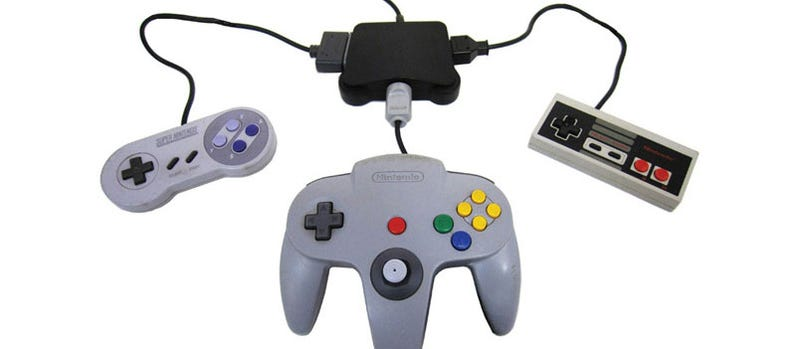 Use Your N64, NES & SNES Pads On The Wii