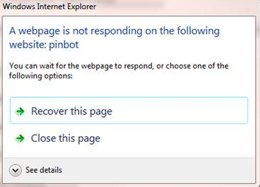 IE8 Can Proactively Close Crashing Tabs in Windows 7 RC