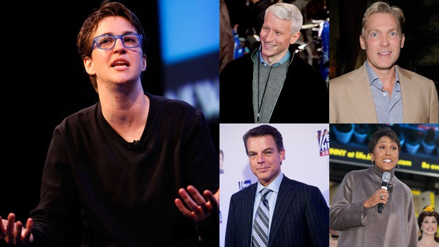 Rachel Maddow Tells Gay News Anchors to Come Out Already