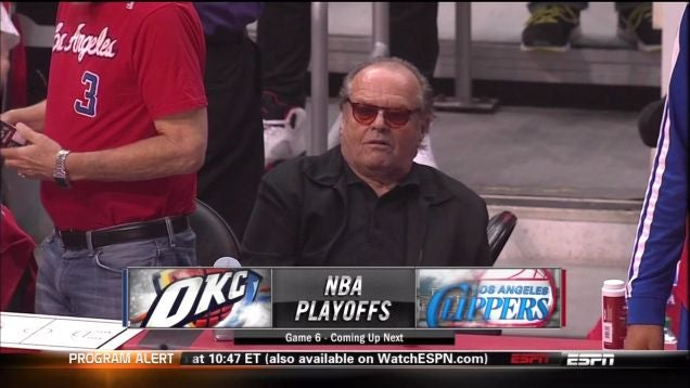 Jack Nicholson Left A Little Kid Hanging At The Clippers Game