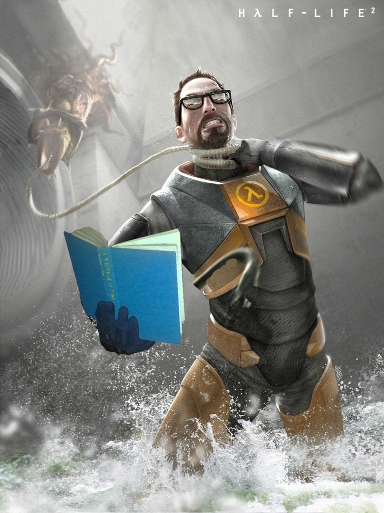 Video Game Heroes Try to Convince Kids to Read In These Cool Fan Posters