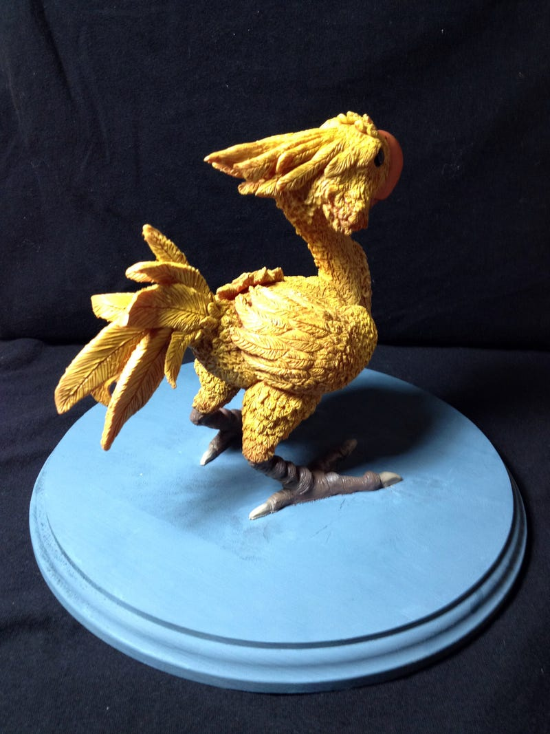 Somebody, Stop Me From Cuddling This Chocobo, Please