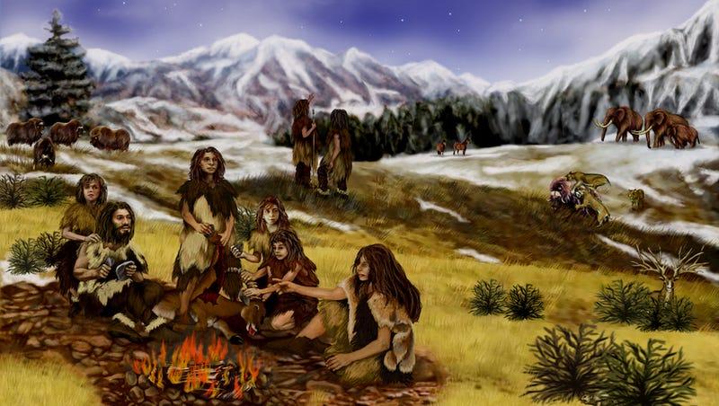 Did Neanderthals Talk Like Humans?