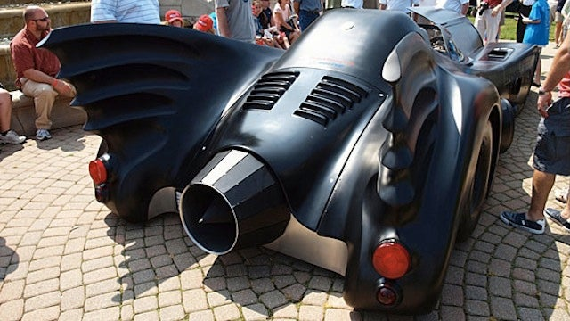 Even Batman Would Be Jealous of This Turbine-Powered Batmobile