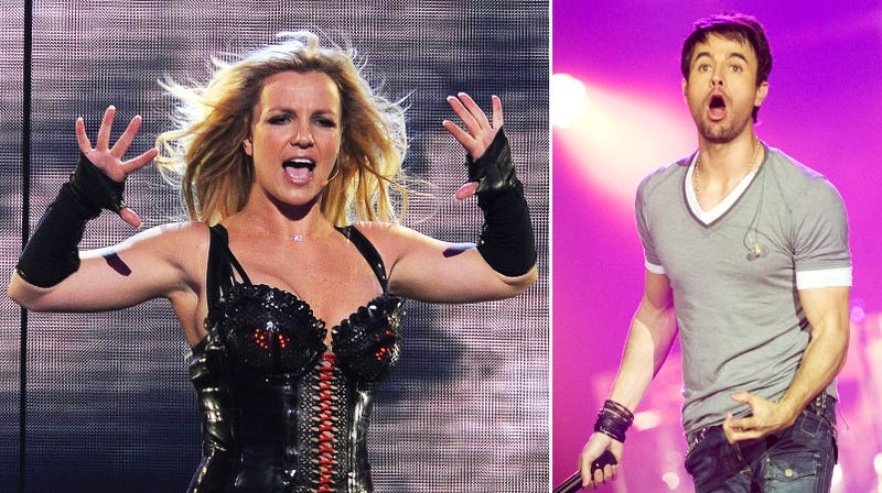 Britney Intimidates Iglesias into Premature Pull-Out
