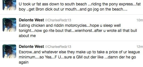 Delonte West Had A Twitter Meltdown
