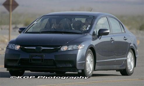 2009 Honda Civic Hybrid Sedan Gets A Face Lift