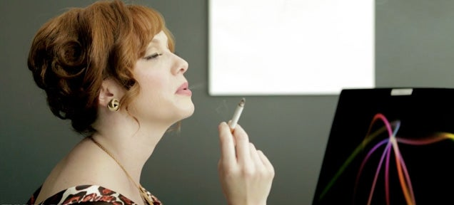What would happen if Mad Men's Joan Harris worked in a modern office?