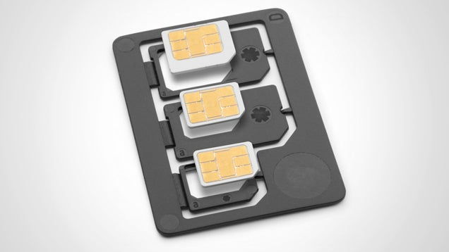 Sadapter Adapts Micro- and Nano-SIMs to Different Sizes