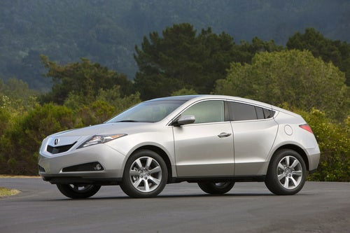 Acura ZDX: Design, Deconstructed