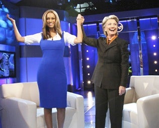 """""""Live"""" From New York: It's Hillary Clinton On Tyra"""