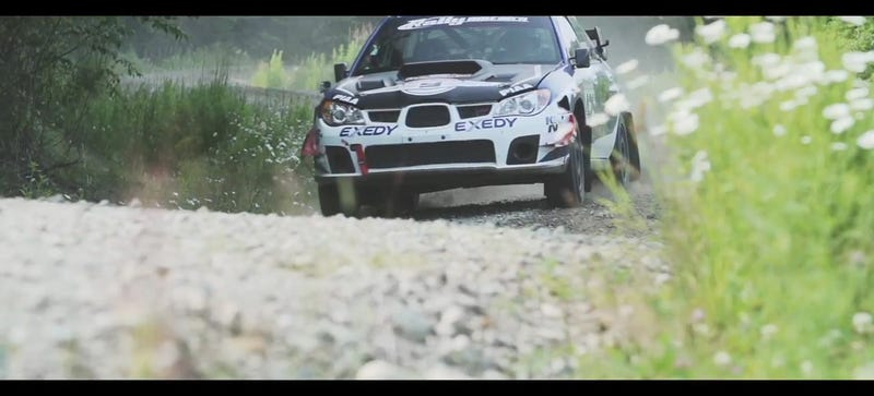 Rallying America's Fastest Private Subaru In The Forests Of Maine