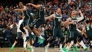 Watch How Michigan State Locked Down Louisville Late In Overtime