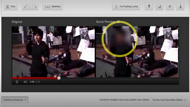 YouTube's New Face Blurring Feature Can Save Lives, Embarrassment