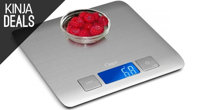 Score a Highly-Rated Kitchen Scale for Just $12 Today