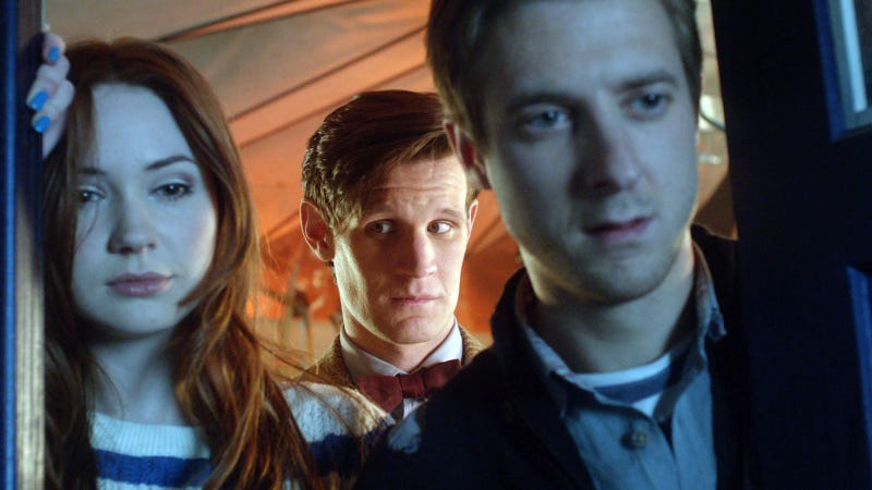 "Doctor Who - ""Dinosaurs on a Spaceship"" Promo Images"