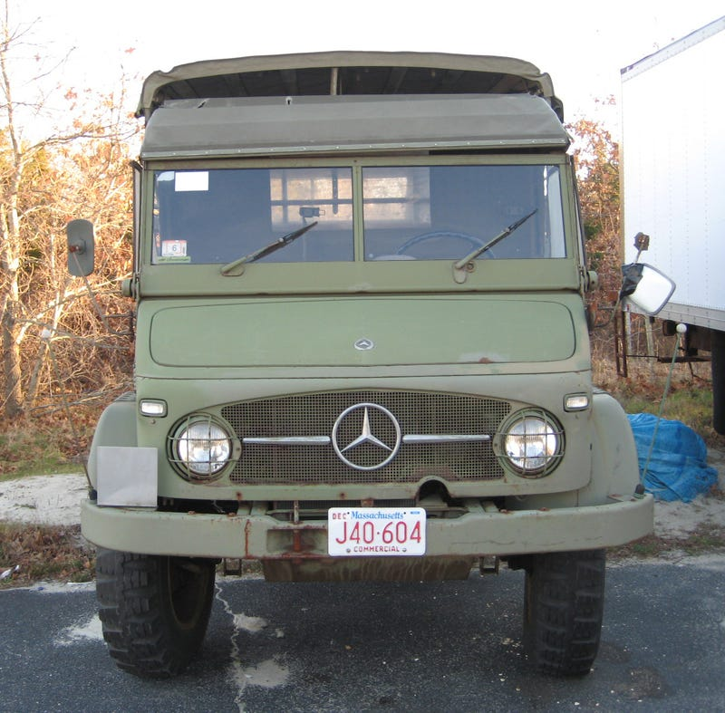 Found Off The Street: 1964 Mercedes Unimog